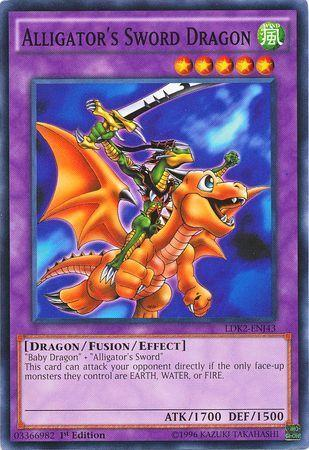 Alligator's Sword Dragon (#LDK2-ENJ43)