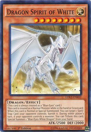 Dragon Spirit of White (#LDK2-ENK02)