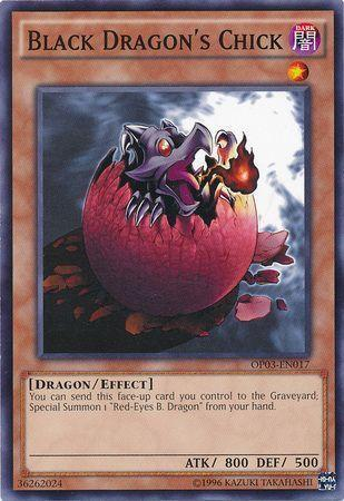 Black Dragon's Chick (Updated from: Red-Eyes B. Chick)