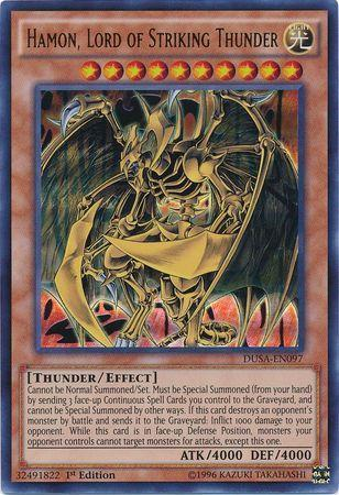 Hamon, Lord of Striking Thunder (#DUSA-EN097)