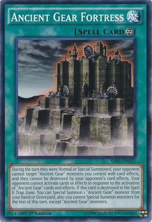 Ancient Gear Fortress (#SR03-EN022)