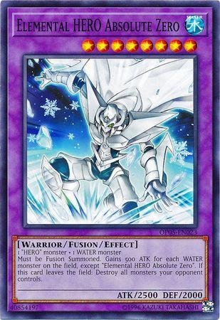 Elemental HERO Absolute Zero (#OP05-EN023)