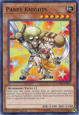 Parry Knights (#COTD-EN037)