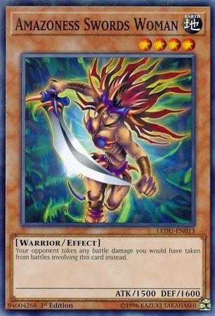 Amazoness Swords Woman (#LEDU-EN013)