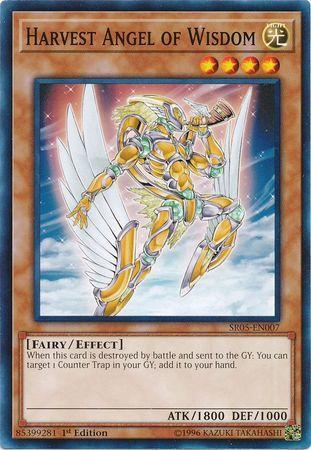 Harvest Angel of Wisdom (#SR05-EN007)