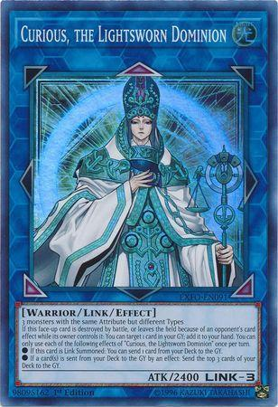 Curious, the Lightsworn Dominion (#EXFO-EN091)