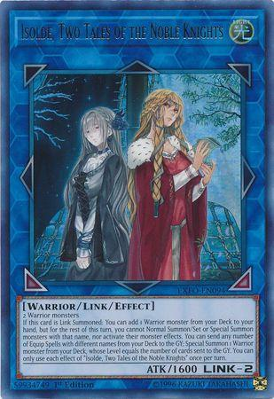 Isolde, Dois Contos dos Nobre Cavaleiros (#EXFO-PT094) / Isolde, Two Tales of the Noble Knights (#EXFO-EN094)