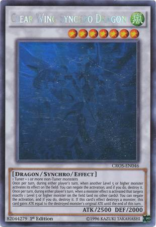 Clear Wing Synchro Dragon (#CROS-EN046)
