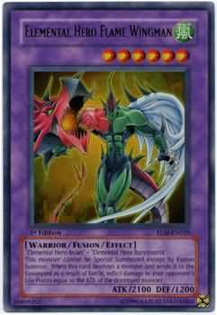 Elemental HERO Flame Wingman (#TLM-EN035)