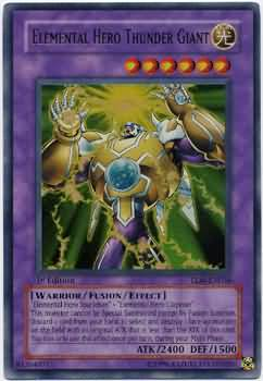 Elemental HERO Thunder Giant (#TLM-EN036)